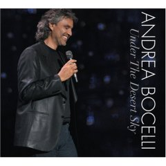 Andrea Bocelli: Under the Desert Sky [DVD Included]