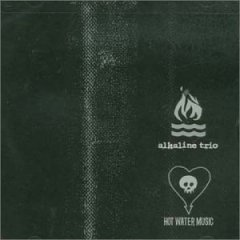Alkaline Trio/Hot Water Music [Split CD]