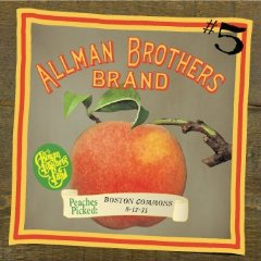 The Allman Brothers Band, Boston Common, 8-17-71