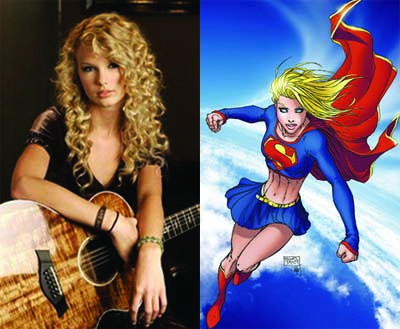 Taylor Swift vira Supergirl nos cinemas