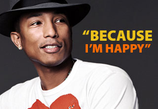 Pharrel Williams - Happy